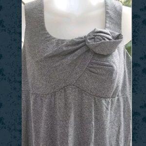 VA VA Joy Han Metallic Twisted Origami Dress VOOM